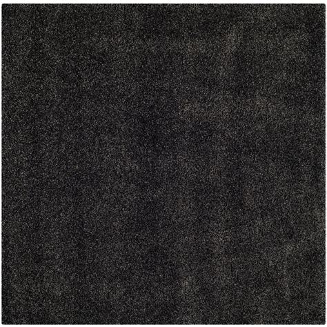 7 Foot Square Area Rugs by Safavieh Milan Shag Gray 7 Ft X 7 Ft Square Area