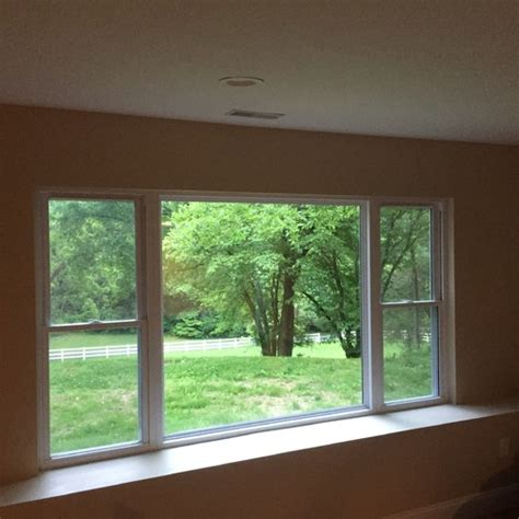 Exterior Paint Contractors - trim or no trim on deep windows your opinions needed