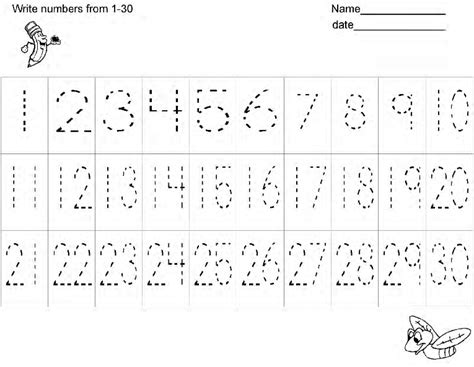 free printable tracing numbers 1 30 worksheets search results for writing numbers 1 30 worksheet