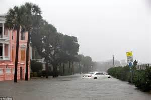 huddle house goldsboro nc hurricane matthew floods charleston as it continues to