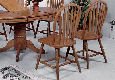 Farmhouse Chairs Oak by Farmhouse Oak Dining Table And 4 Side Chairs