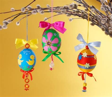 Easter Handmade Crafts - easter craft ideas for children original handmade gifts
