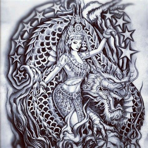 sick ass tattoo designs sick apsara dancer with a a touch of