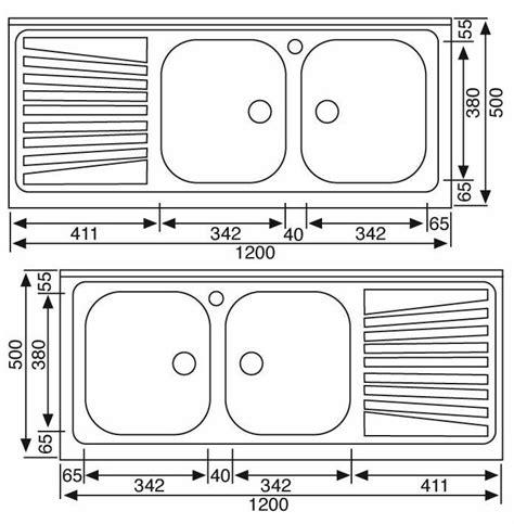 dimensioni lavello lavello in acciaio inox da appoggio con due vasche