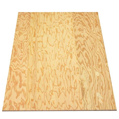 pressure treated plywood sheathing common 23 32 in