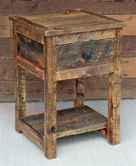 Rustic Nightstands 15 Best Images About Rustic Nightstands On
