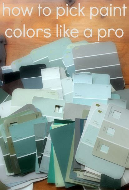 tips for picking paint colors tips from trusted sources on how to pick paint colors that