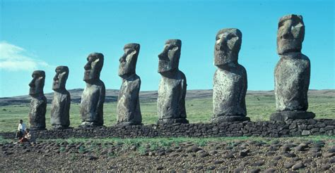which of the following show evidence of ancient river beds ancient aliens moai photographic evidence pictures