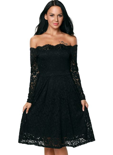 sleeve cocktail dress shoulder sleeve lace bridesmaid cocktail dress