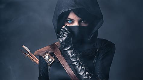 wallpaper leather girl cosplay full hd wallpaper and background 1920x1080 id