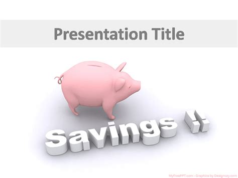 Saving Concept Powerpoint Template Download Free Powerpoint Ppt Save Ppt Template