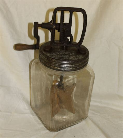 kitchen collectables bargain s antiques 187 archive antique 3 quart dazey butter churn no 30 bargain