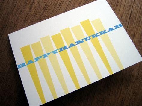 Handmade Hanukkah Cards - simple handmade hanukkah greeting cards