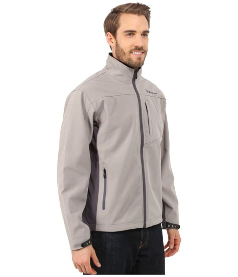 ariat vernon softshell jacket  gray  men lyst