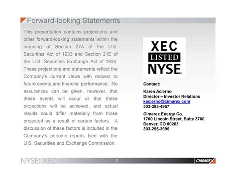 Entertainment Section Meaning by Cimarex Energy Co 2017 Q3 Results Earnings Call