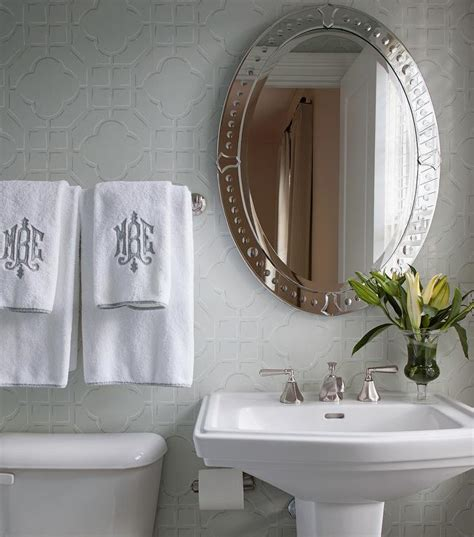 Decorative Towels For Powder Room by Monogram Towels Design Ideas