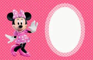 minnie mouse in pink free printable invitations labels or cards is it for is it