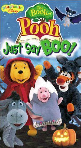 Story Book Say Boo To The Animals the book of pooh just say boo vhs walt disney http www dp b000068mf5 ref