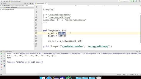 programming challenge distinct letters python programming challenge