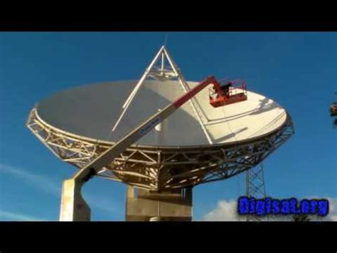satellite earth station antenna maintenance installation services communications systems