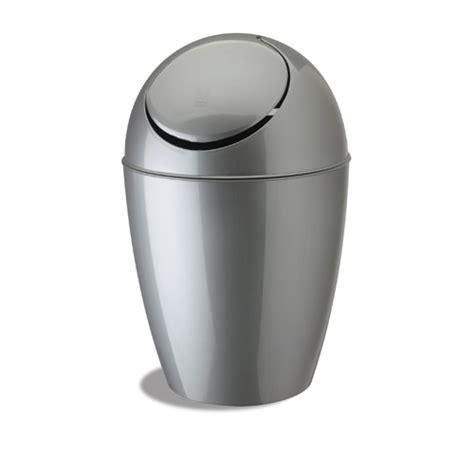 silver bathroom trash can umbra small sway trash can silver in small trash cans