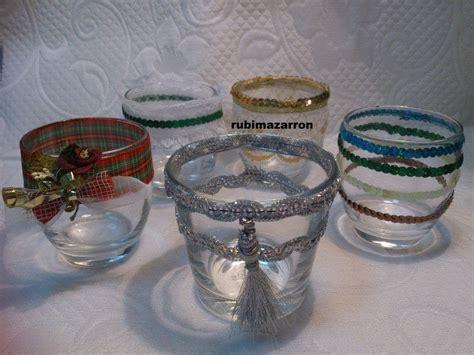 como decorar vasos de cristal para navidad diy como decorar vasos youtube
