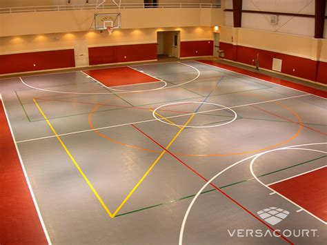 basement basketball court versacourt indoor courts