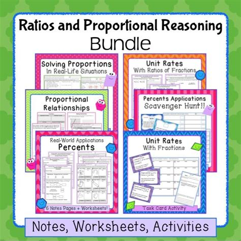 Proportional Reasoning Worksheets by Proportional Reasoning Math Worksheets Proportional