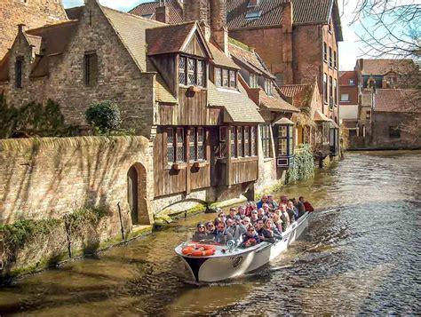 boat tour in bruges explore by boat visit bruges