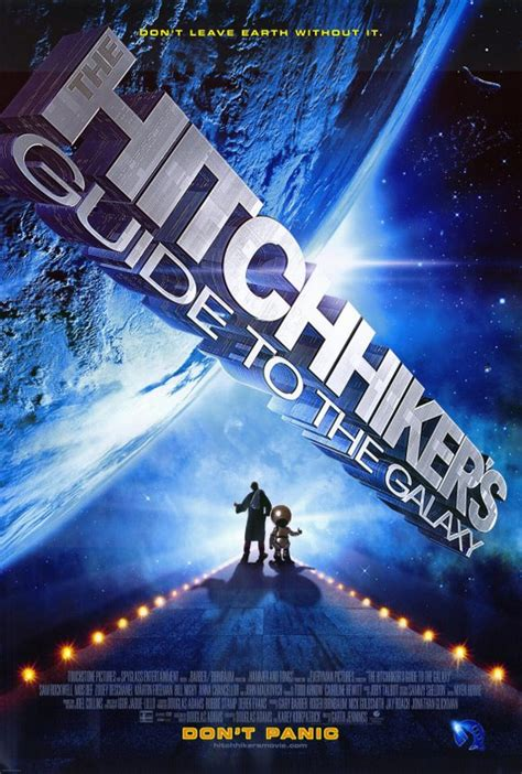 the hitchhiker s guide to the galaxy the hitchhiker s guide to the galaxy 2005 poster 1
