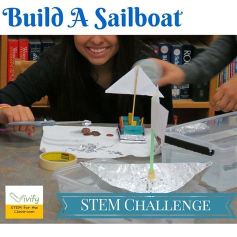 how to build a boat stem stem sailboat challenge math engineering activity