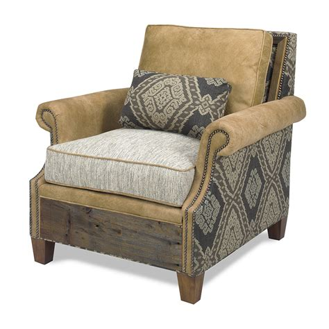 Aztec Chair by Norfolk Chair Aztec Green Gables