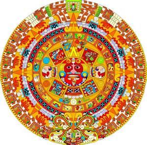 Calendario Colo Calendario Azteca 20 D 205 As Nombres En N 193 Huatl Espa 209 Ol E