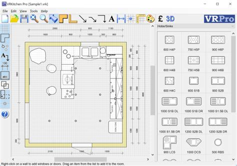 easy to use kitchen design software vr pro kitchen design software