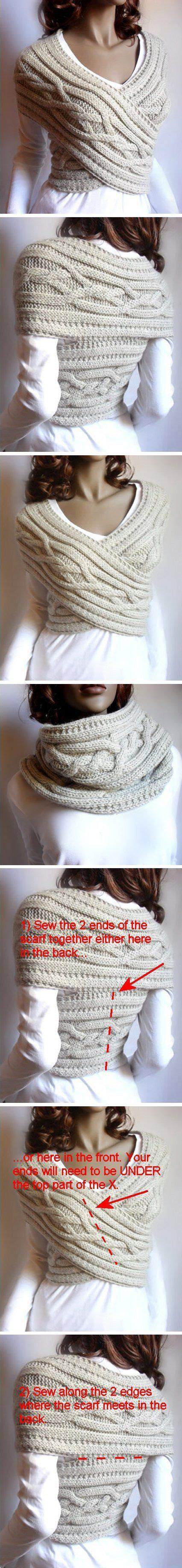 etsy pilland pattern cabled sweater criss cross vest and cowl neckwarmer by