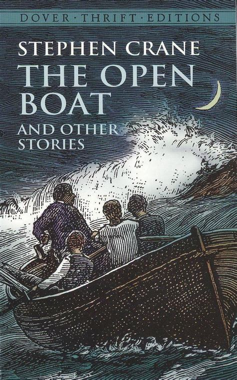 the boat a novel books the open boat by stephen crane soft cover book ponce