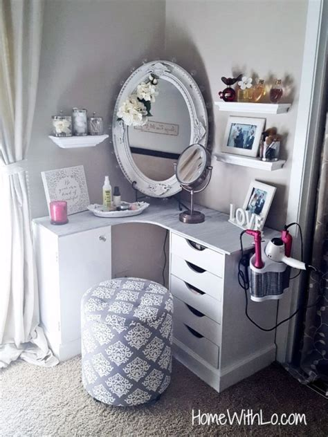 Build Your Own Vanity Table by How To Build Your Own Makeup Vanity Step By Step