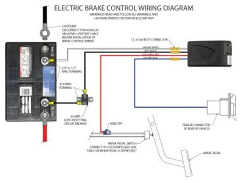 trailer breakaway wiring diagram with charger tractor