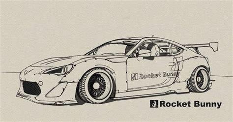 Cd R Gt Pro 50 Pcs rocket bunny frs automotive automotive
