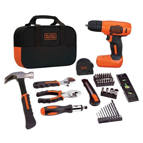 black decker 8 volt max lithium ion cordless drill and
