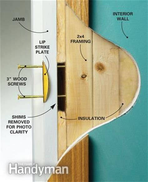What Is A Door Jam by How To Reinforce Doors Entry Door And Lock Reinforcements