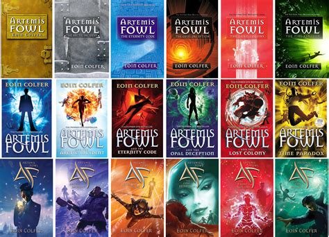 six years lost books artemis fowl oneaday2013