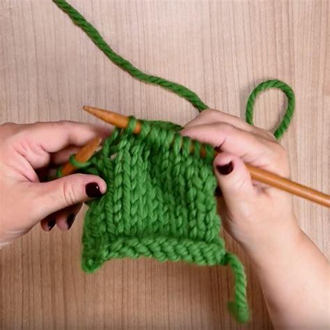 knitting how how to knit loveknitting