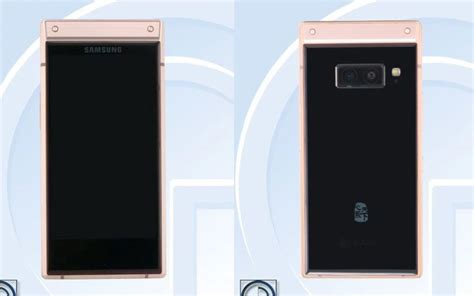 samsung w2019 high end flip phone with dual rear cameras clears tenaa gizchina