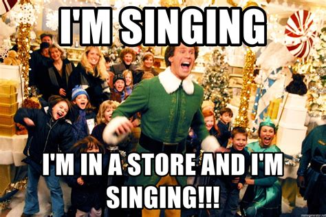 will ferrell singing i m singing i m in a store and i m singing will