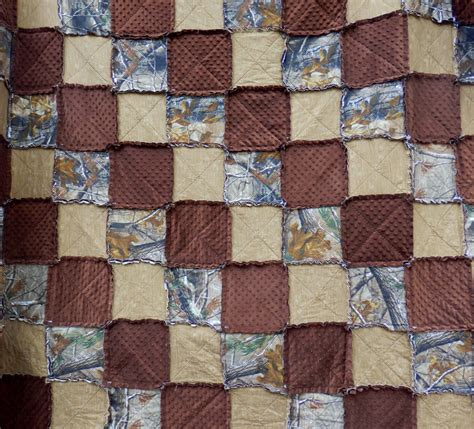 california king size tree camo rag quilt camouflage bedding
