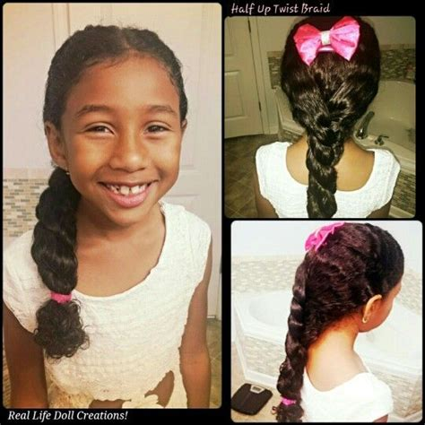 easy biracial hairstyles real life doll creations hair for little girls little