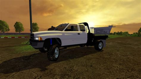 cummins pickup bed log truck for fs15 farming simulator flatbed for dodge ram 2500 2018 dodge reviews