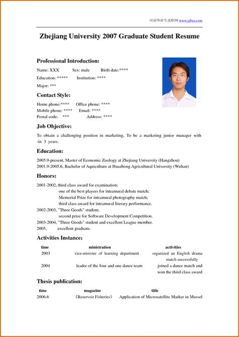 Writing A Resume Template by How To Write A Cv Cvs
