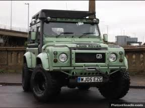land rover defender in green app for land rover
